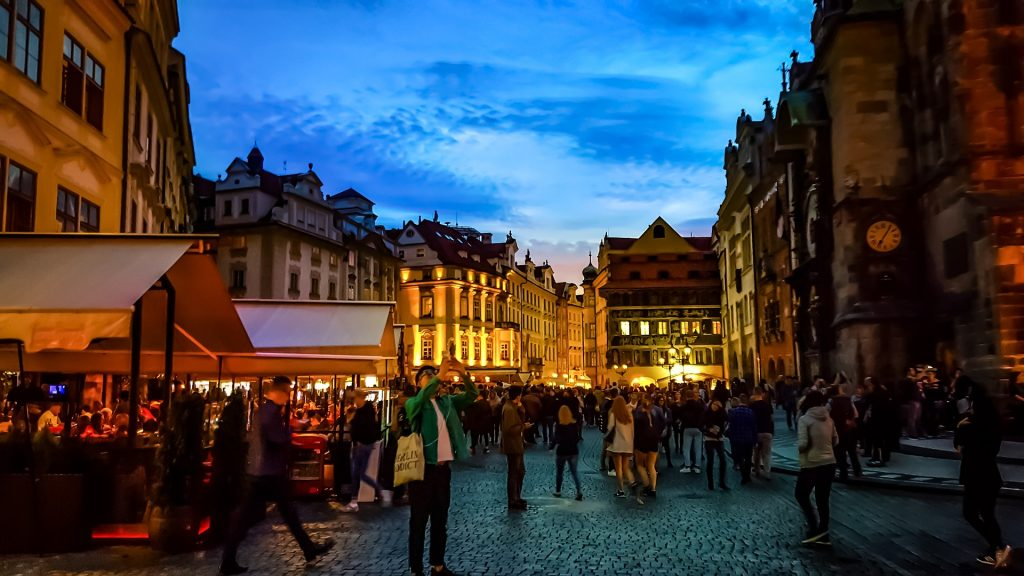 Nightlife Europe Praga